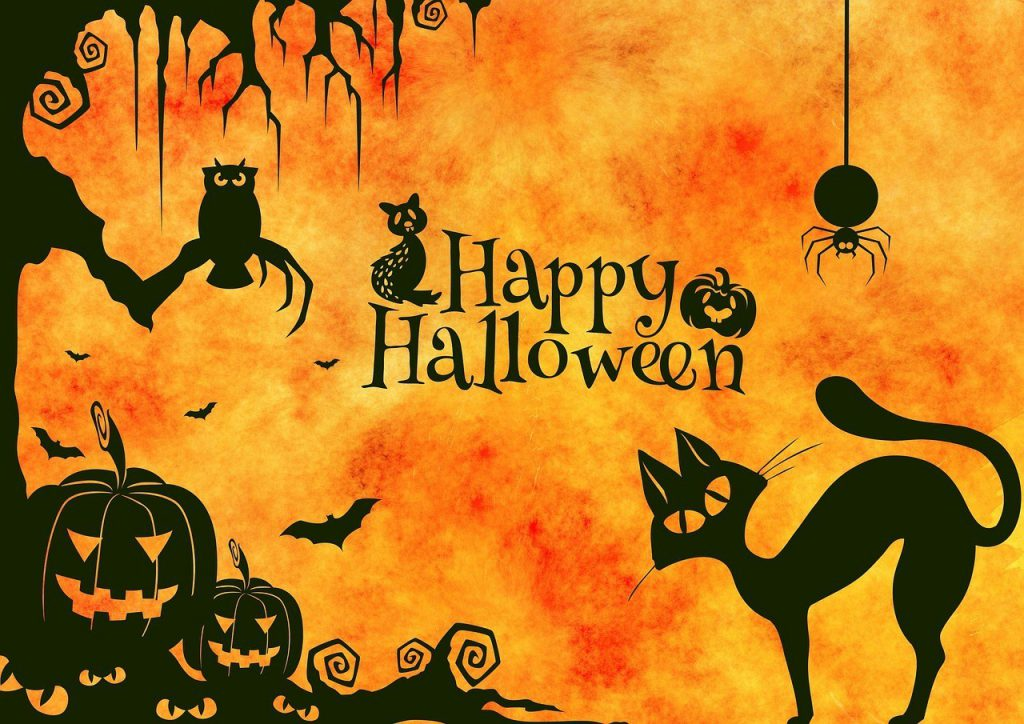 The Halloween Business: there are lots of products related to Halloween such as the Jack-O'-Lantern.